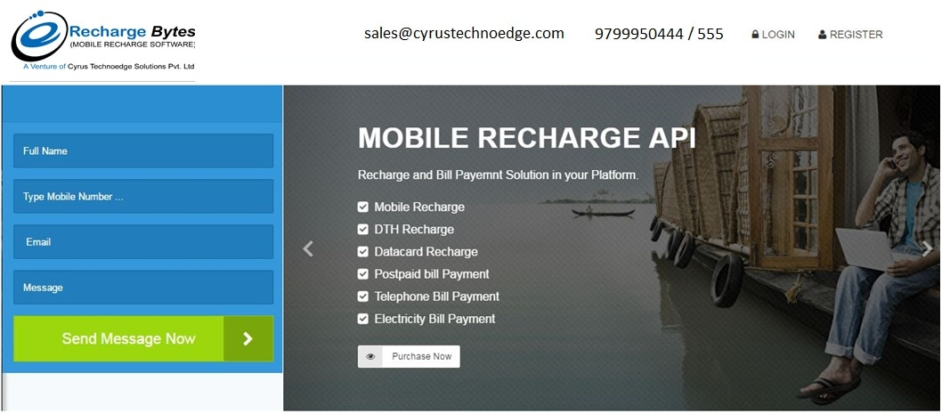 Mobile Recharge Software - Online Recharge Business Software
